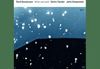 Jarle Vespestad, Gustavsen Tord, Simin Tander - What Was Said  - (CD)