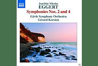 Gävle Symphony Orchest Korsten - Sinfonien 4 & 2 [CD]