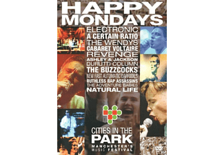 VARIOUS - Cities In The Park  - (DVD)