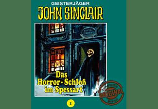 Das Horror-Schloß Im Spessart - John Sinclair 01: Das Horror-Schloß im Spessart  - (CD)