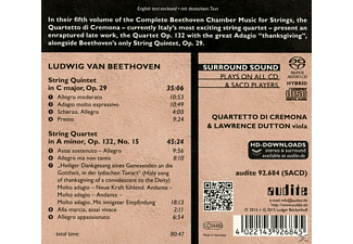 Lawrence Dutton, Quartetto Di Cremona - Complete String Quartets Vol.5  - (SACD Hybrid)