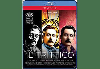 Gallo/Larsson/Demuro, Antonio/roho Pappano - Il Trittico  - (Blu-ray)