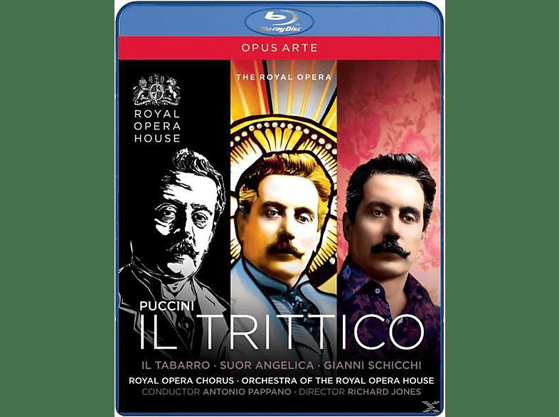 Gallo/Larsson/Demuro, Antonio/roho Pappano - Il Trittico [Blu-ray]