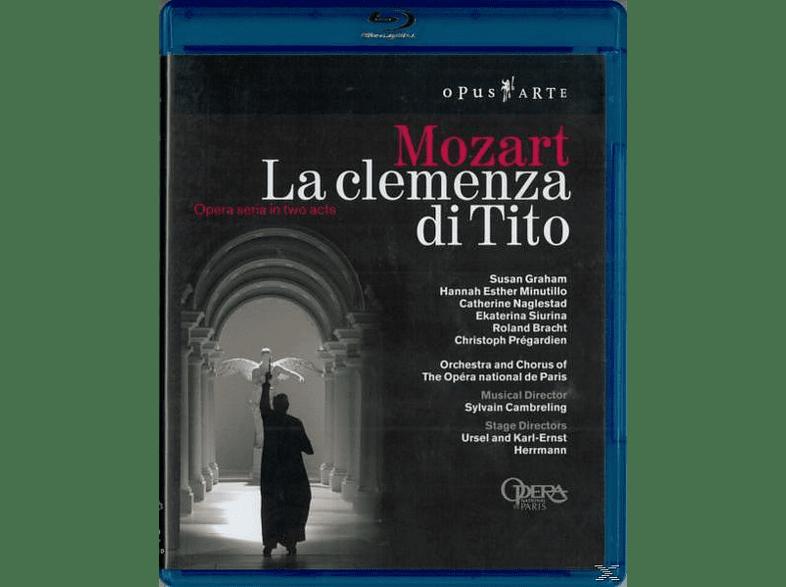 Graham/Pregardien/Crambreling - La Clemenza Di Tito [Blu-ray]