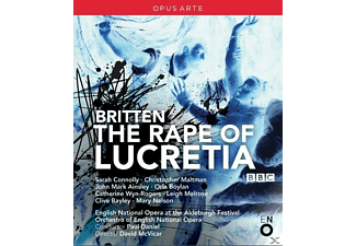 Connolly/Maltman, Daniel/Ainsley/Boylan/Bayley - Rape Of Lucretia - (Blu-ray)