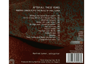 Manfred Junker - After All These Years  - (CD)