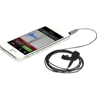 RODE SmartLav+, Mikrofon, Schwarz, passend für iPhone®, iPad®, iPod® touch, Android-Geräte mit TRRS-Anschluss