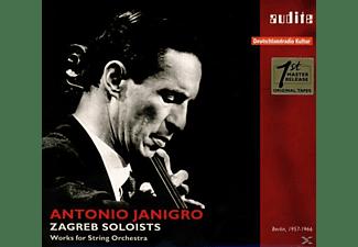 Antonio Janigro, Zagreb Soloists - The Rias Recordings-Berlin 1957-1966  - (CD)