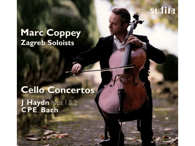 Marc Coppey, VARIOUS, Zagreb Soloists - Cello Concertos [CD]