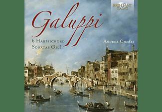 Andrea Chezzi - 6 Harpsichord Sonatas Op.1  - (CD)