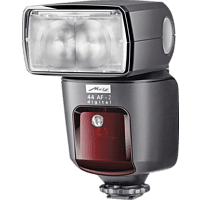 METZ 44 AF-2 DIGITAL Slave Blitzgerät für Canon (44, E-TTL, E-TTL II, E-TTL-Remote)