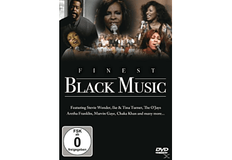 VARIOUS - Finest Black Music  - (DVD)