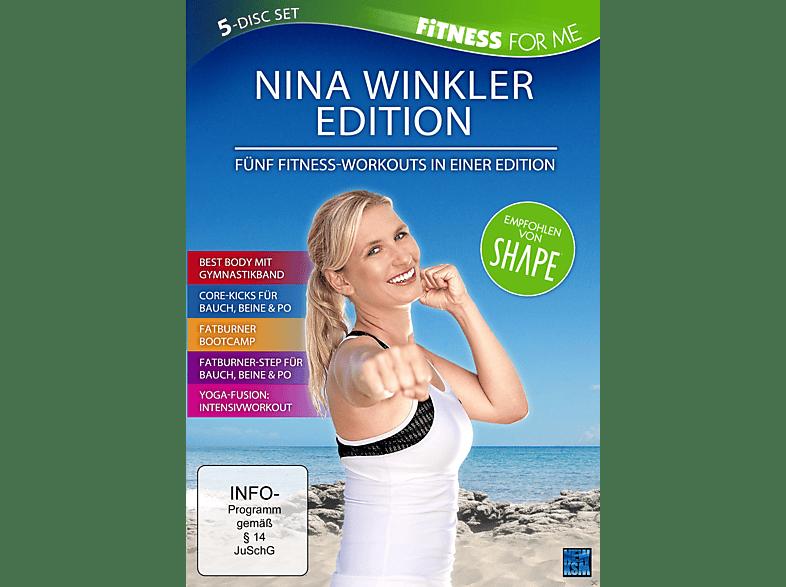 Nina Winkler Edition - Fitness for me - Rund um Fit Workout für Anfänger und Fortgeschrittene [DVD]