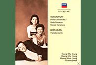 Chung,M-Whun./Chung,M-Wha/Chung,K-W/Dutoit - Konzerte Von Tschaikowsky Und Beethoven [CD]