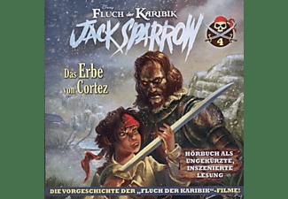 Disney Fluch Der Karibik-jack Sparrow - Vol.4! Das Erbe Von Cortez  - (CD)