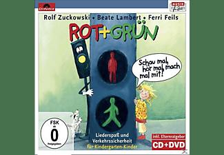 Rolf Zuckowski, Beate Lambert, Ferri Felis - Rot + Grün - Schau Mal, Hör Mal, Mach Mal Mit!  - (CD + DVD Video)