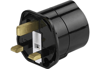 VIVANCO Reisestecker Schuko Großbrtanien 28699