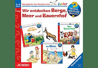 Wieso? Weshalb? Warum? Junior/Various - Wir Entdecken Berge, Meer Und Bauernhof (Box)  - (CD)