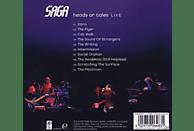 Saga - Heads Or Tales:Live [CD]