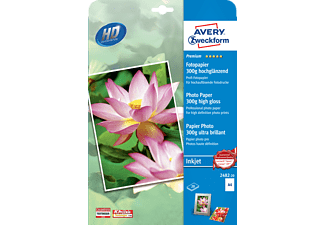 AVERY ZWECKFORM 2482-20 Premium Inkjet Fotopapier 210 x 297 mm 210 x 297 mm A4  20 Blatt