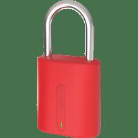 DOG & BONE LockSmart Mini Vorhängeschloss, Rot
