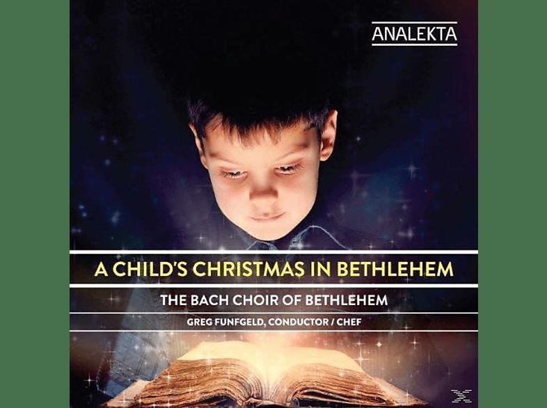 The Bach Choir Of Bethlehem - A Child's Christmas in Bethlehem [CD]