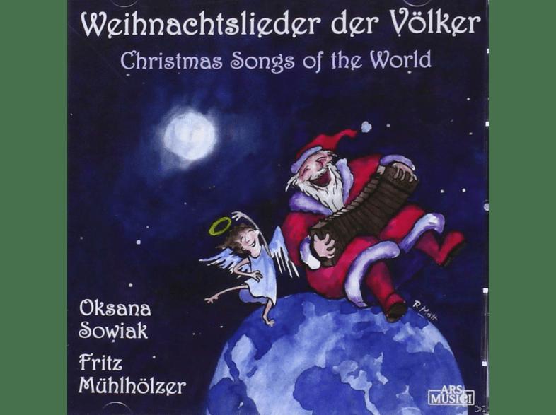 Oksana Sowiak, Fritz Mühlhölzer - Weihnachtslieder Der Völker [CD]