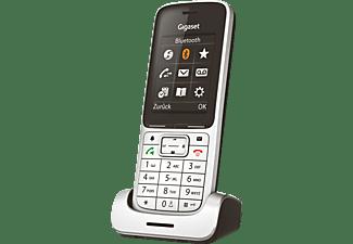 GIGASET SL450HX Mobilteil, Platin/Schwarz