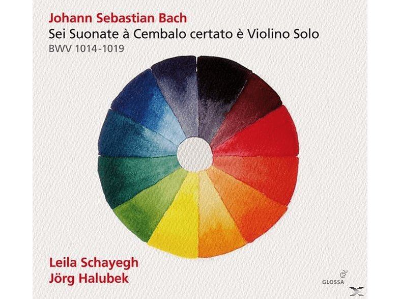 Halubek Schayegh - Sei Suonate à Cembalo cerato è Violino Solo [CD]