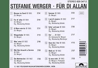 Stefanie Werger - Für Di Allan  - (CD)