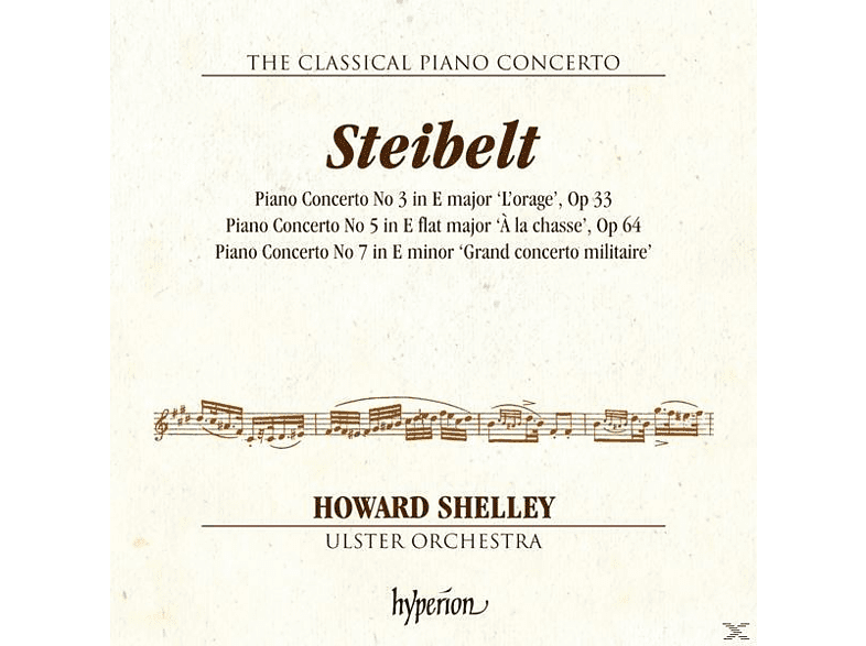 Ulster Orchestra, Shelley Howard - The Classical Piano Concerto Vol.2 [CD]
