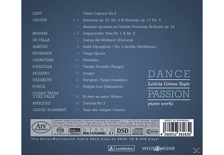 Leticia Gomez-tagle - Dance Passion-Piano Works  - (SACD Hybrid)
