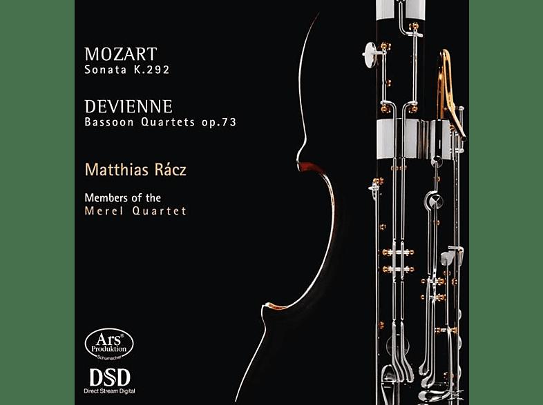 M./Mitglieder des Merel Quartetts Racz - Sonate KV 292/Fagottquartette op.73 1-3 [SACD Hybrid]