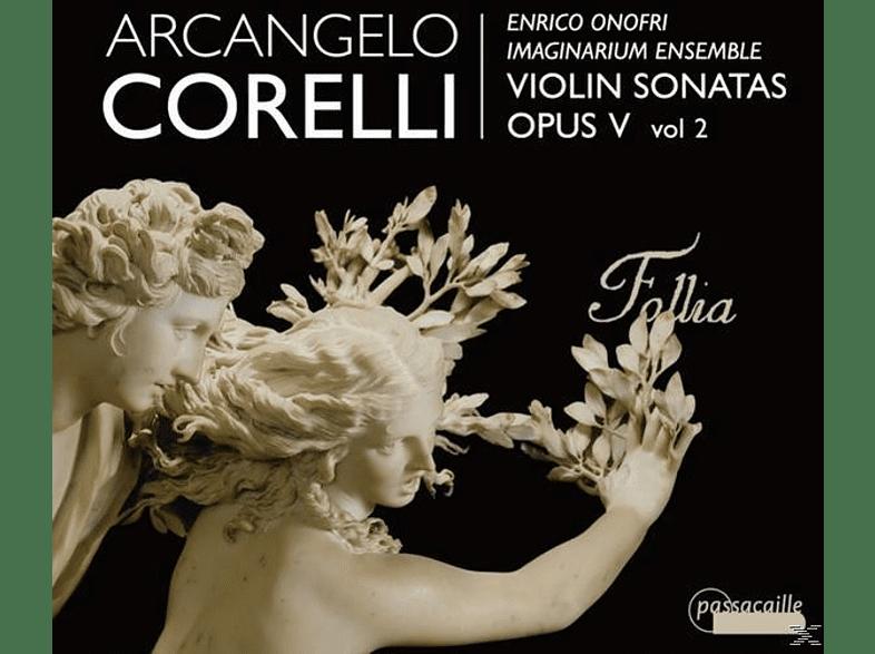 Enrico+imaginarium Ensemble Onofri - Sonaten op.5 Vol.2 [CD]