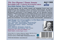 B./Royal Ballet Sinfonia Wordsworth - The Two Pigeons/Dante Sonata [CD]