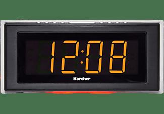 KARCHER UR1080 Radio-Uhr, PLL Tuner, Schwarz
