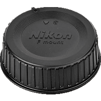 NIKON LF-4 Objektivdeckel, Schwarz