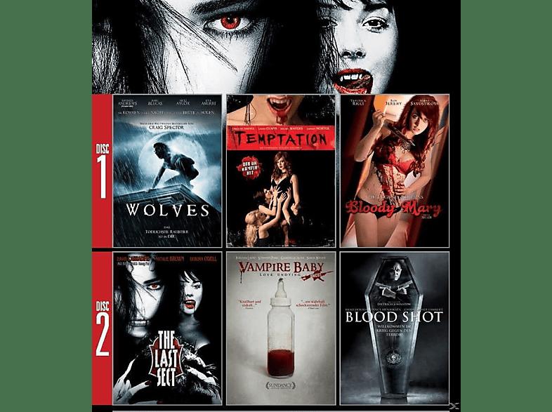 Vampire - Sexy und tödlich (6 Vampirfilme auf 2 DVDs) [DVD]
