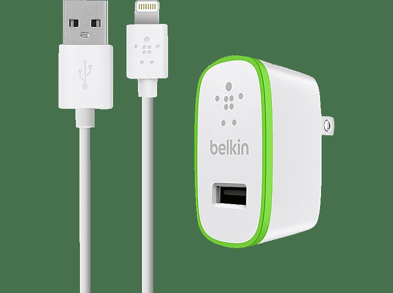 BELKIN USB, 2,4A, 12W, weißes Netz-Ladegeät