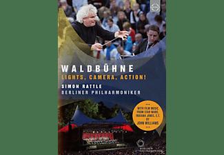 Sir Simon Rattle, Berliner Philharmoniker - Waldbühne Berlin-Lights, Camera, Action!  - (DVD)