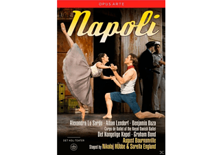 VARIOUS, The Royal Danish Ballet, Det Kongelige Kapel - NAPOLI  - (DVD)