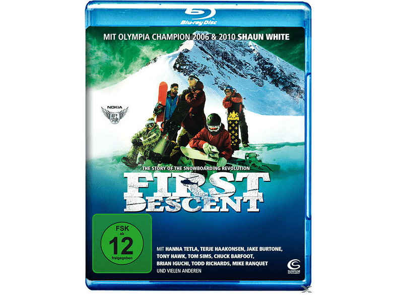 First Descent - The Story of Snowboarding Revolution [Blu-ray]