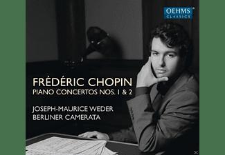 Berliner Camerata, Weder Joseph-maurice - Chopin: Piano Concertos Nos. 1 & 2  - (CD)