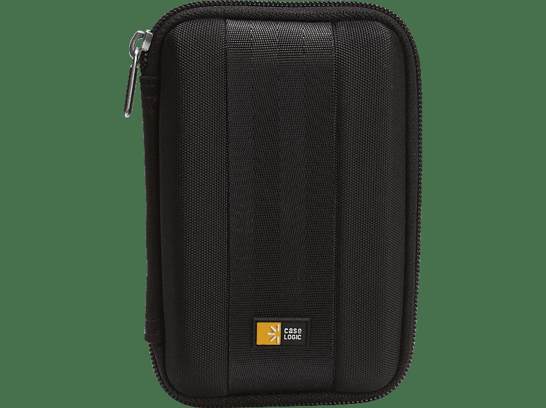 CASE-LOGIC für Festplatten mit 2.5 Zoll Festplatten Case, Schwarz