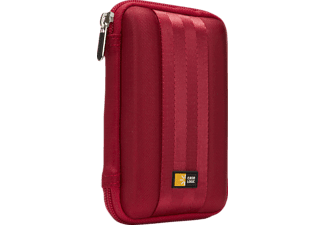 CASE-LOGIC Portable 2.5 Zoll, Festplatten Case, Rot