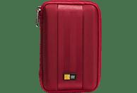 CASE-LOGIC Portable 2.5 Zoll Festplatten Case, Rot