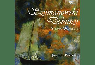 Quartetto Prometeo - Szymanowsky & Debussy: String Quartets  - (CD)