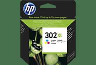 HP 302XL Tintenpatrone, Cyan/Magenta/Gelb