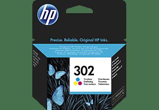 HP 302 Tintenpatrone Cyan/Magenta/Gelb (F6U65AE)