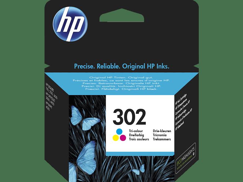 HP 302 Tintenpatrone mehrfarbig (F6U65AE)